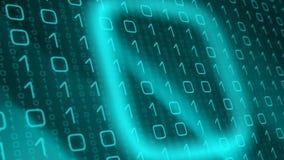 Угрозы кибер атаки, проблемы машинного обучения искусственного интеллекта иллюстрация вектора