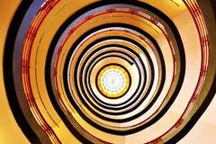 Угрюмая tred и серая лестница Стоковые Фото