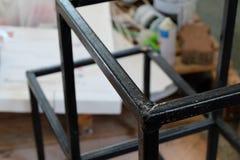 Угловая сталь на факультете архитектуры Стоковые Фотографии RF