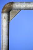 Угловая труба металла Стоковые Изображения RF