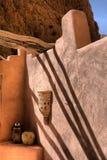 угловойое todra lodge gorge Стоковая Фотография