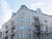 Угловой взгляд квартир квартиры Стоковые Изображения