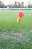 Угловой флаг Стоковое Фото