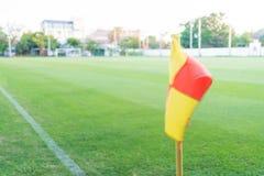Угловой флаг Стоковая Фотография