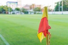 Угловой флаг Стоковое фото RF