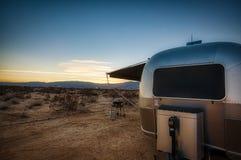 Удаленная весна Калифорния Borrego места для лагеря пустыни стоковое фото rf