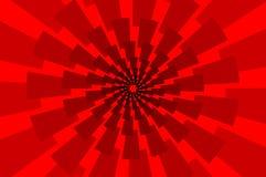 Удар молнии - абстрактная геометрическая картина вектора иллюстрация штока