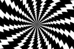 Удар молнии - абстрактная геометрическая картина вектора бесплатная иллюстрация