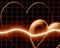 Удар сердца Стоковое фото RF