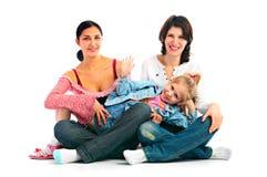 Удачливейшая семья Стоковая Фотография