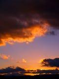 удачливейшее небо Стоковые Изображения RF