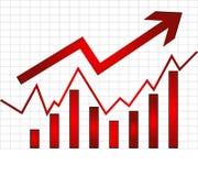 удельный вес на рынке Стоковая Фотография
