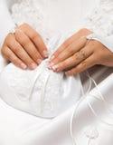 удерживание невесты мешка малое Стоковая Фотография RF