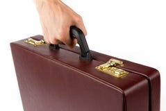 удерживание руки портфеля Стоковое фото RF