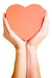 удерживание сердца Стоковые Фотографии RF