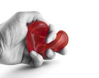 удерживание сердца Стоковое фото RF