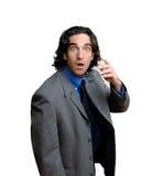 удивленный бизнесмен стоковые фотографии rf