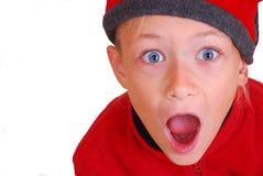 удивленный ребенок Стоковые Фото