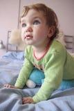 удивленный ребенок Стоковое Изображение