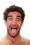 удивленный человек Стоковое фото RF