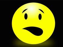 удивленный smiley Стоковое Фото
