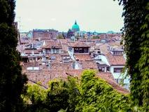 Удине Италия - красивое фото города Удине стоковая фотография