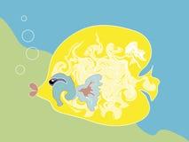 удите желтый цвет Бесплатная Иллюстрация