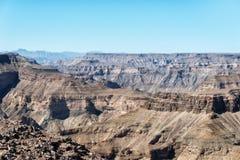 Удите каньон реки в южной Намибии принятой в январе 2018 стоковые фотографии rf