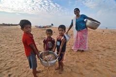 Удить в Керале стоковое изображение