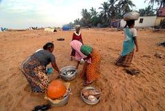 Удить в Керале стоковая фотография rf