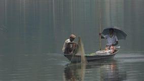 Удить в реке Стоковое Фото