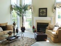 удобная комната семьи Стоковое Изображение