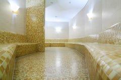 Удобная светлая турецкая ванна Стоковое фото RF