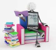 Удобное чтение Стоковая Фотография RF