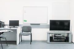 Удобный офис с современным оборудованием стоковые фотографии rf