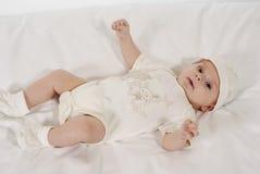 удовлетворяемый младенец стоковые изображения