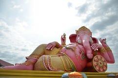 Удовольствие взятия кровати лагеря лорда Ganesh Стоковое Изображение