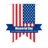 Удостаивающ всех которые служили, счастливый День памяти погибших в войнах, иллюстрация вектора Стоковое фото RF