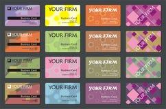 удостоверение личности карточки Стоковые Изображения RF