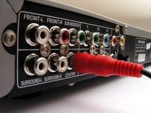 уединённая заткнутая штепсельная вилка Стоковое Изображение RF