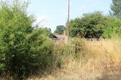 Уединённый загородный дом в сельском Essex стоковые изображения rf