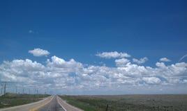Уединённая проселочная дорога Стоковое фото RF