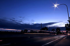 Уединённая улица города Стоковая Фотография RF