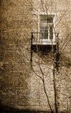 Уединённое окно Стоковое Фото