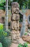 Ужасная скульптура в ботаническом саде Стоковое Фото
