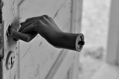 ужас руки стоковая фотография