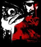 ужас 02 Стоковое Изображение RF