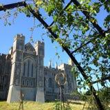 лужки Англии замока arundel окружая Сассекс осмотрели запад Стоковое фото RF