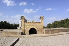 Узбекистан Самарканд Ulugh умоляет обсерватории стоковые фотографии rf
