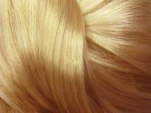 узел волос крупного плана gingery Стоковое фото RF